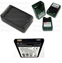 Samsung Galaxy Note SGH 717M 2600 mAh Battery + External Charger Travel ... - $15.49