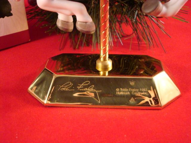 Hallmark 1993 Tobin Farley Carousel  New QX550-2