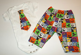 Preemie & Newborn Boys Halloween Onesie and Pant Set - $23.00