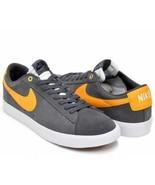 Nike SB Blazer Low GT Grant Taylor Skate board Shoes Dark Grey sz 8 7049... - $69.07
