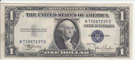 """1935 Series C $1 SILVER CERTIFICATE NOTE """"CRISP"""" - $19.00"""