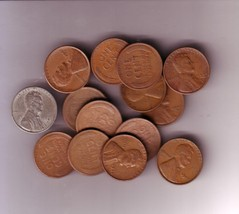 16piece LOT 1940'S LINCOLN CENTS - $9.49