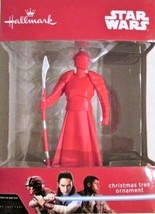 Hallmark Star Wars Christmas Ornament Last Jedi Red Praetorian Guard - $11.99