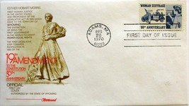 August 26, 1970 First Day of Issue, Fleetwood Cover, Woman Suffrage #40 - $2.02