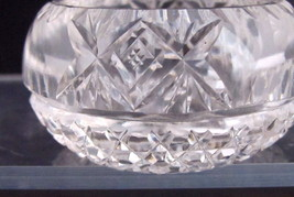American Brilliant  Hand Cut  glass Antique 6  individual salts floral - $45.50