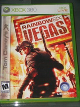 XBOX 360 - RAINBOW SIX VEGAS (Complete with Instructions) - $6.50