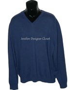 NWT BOBBY JONES Golf  XXL 2XL V-neck sweater bl... - $71.27