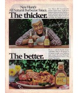 1983 Hunts Barbecue Sauce Full Page Print Ad - The Thicker. The Better. ... - $6.99