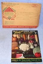 John Salzer Seed Co Spring Seed Catalog 1943 La Crosse Wisconsin - $24.95
