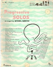 Progressive Solos (Hansen's All Organ Series No. 44) - $5.00
