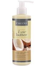 Cuccio Lytes Ultra Body Butter,  Coconut & White Ginger 8 oz  image 2