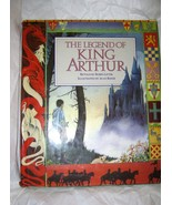 The Legend of King Arthur Robin Lister Hardback w/DJ 1st ed 3rd printing... - $16.72