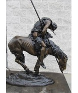 End of The Trail by James Fraser Monumental Bronze Sculpture Statue - $5,900.00