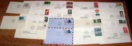 First Day Issue Covers~1965~16 Envelopes~2 Postcard~USCG,Salvation Army,... - $10.00
