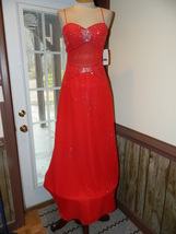 Classique size 6 Formal Prom Pageant Cruise Dress , New with tags , beaded  - $149.99