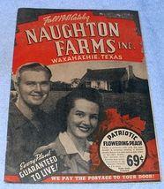 Naughton Farms Fall 1941 Catalog Waxahachie Texas Roses, Shrubs Bulbs - $11.95