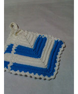Blue/white potholder set - $8.00