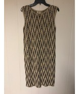 Jones New York Women Dress Brown Multi Size US M - $39.00