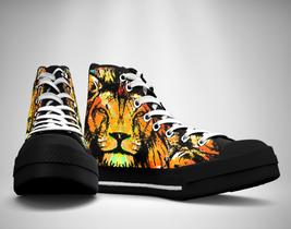 Lion Roar  Canvas Sneakers Shoes - $49.99