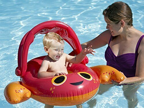 Primary image for SwimWays Sun Canopy Baby Boat Float Pool Swimming