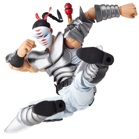 Revoltech Revolution: Fist of The Star Series No. 018 Shura Action Figure NEW!