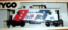 HO Trains -Caboose, Spirit of 76 HO  Scale Tyco Electric Trains - $6.50