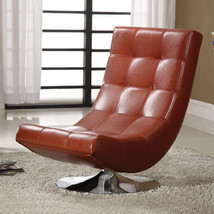Hokku Designs Denny Swivel Lounge Chair furniture living room captains o... - $345.51
