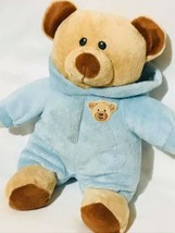 "Ty Pluffies Baby Bear Blue Pj Pajamas Love To Baby Plush 9"" - $16.09"