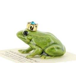 Birthstone Frog Prince December Simulated Zircon Miniatures by Hagen-Renaker image 2