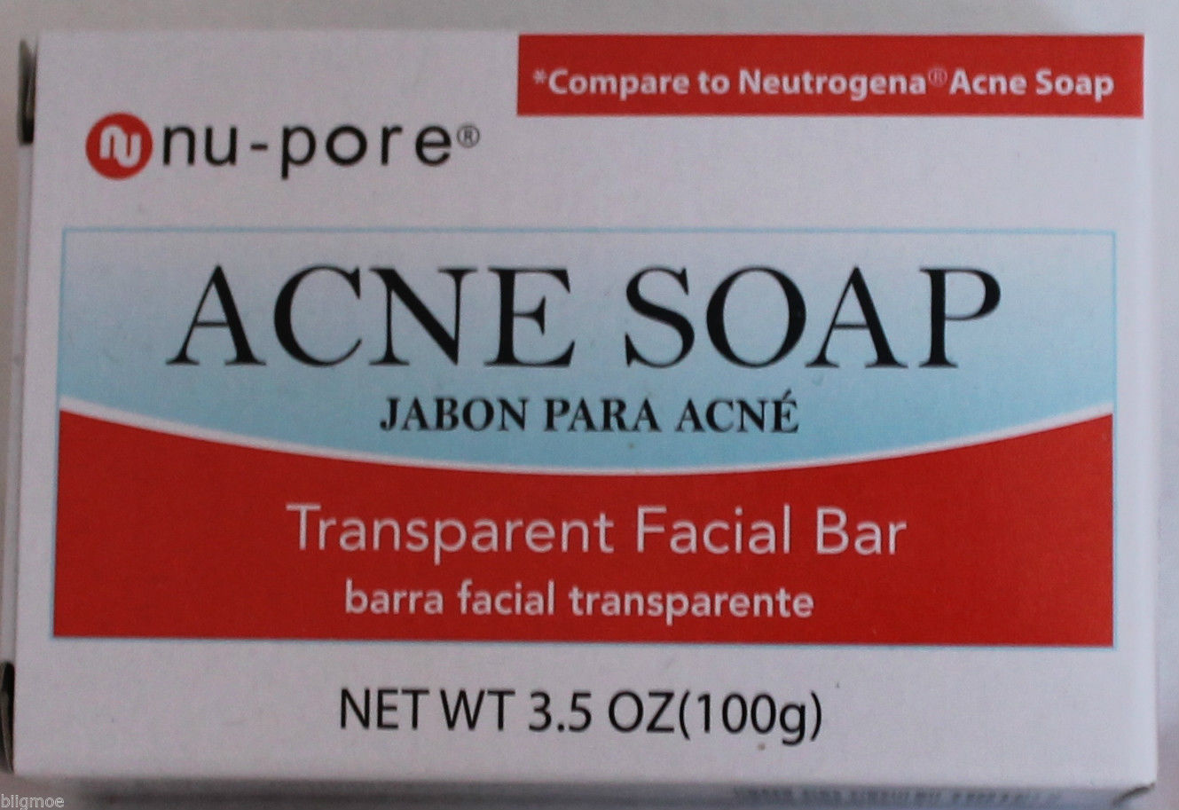 Nu-Pore Acne Soap Transparent Facial Bar and 50 similar items