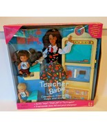 1995 Mattel all Brunette Teacher Blonde baby Barbie Doll Set No. 16210  - $47.47