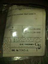 O-Z/GEDNEY PTFS-138-000-A Poke Thru Fire Seal Abandonment Unit Kit Nib - $39.99