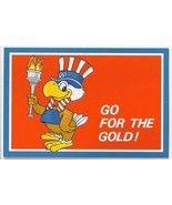 SAM THE OLYMPICS EAGLE GO FOR THE GOLD 1984 LA OLYMPICS Official License... - $3.95