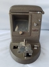 Filmo 16mm Film Viewer Bell & Howell Vintage Antique Model 146-A 115 Vol... - $140.65