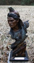 Great Eyes Indian Sculpture from Mill Creek Stu... - $99.00