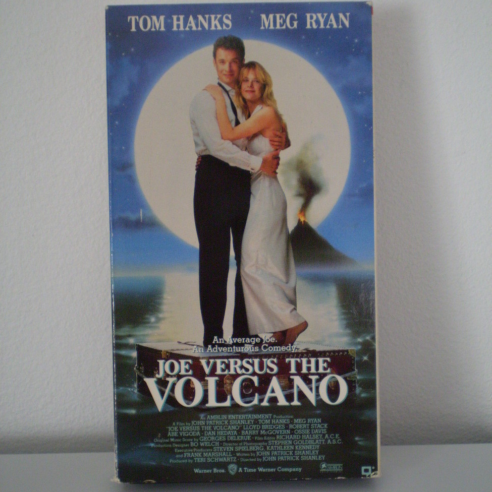 Joe Versus the Volcano with Tom Hanks & Meg Ryan VHS