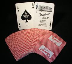 Two Decks of Flamingo Hilton Casino Playing Cards - (sku#2274) - $18.99