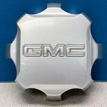 "ONE 2020 GMC Sierra 2500 / 3500 # 84307951 20"" Alloy Wheel Silver Center Cap - $35.00"