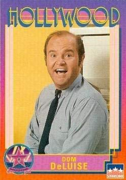 Dom DeLuise trading Card (Actor, Comedian) 1991 Starline Hollywood Walk of Fame