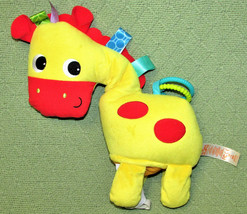 Bright Starts Baby Horse Play Pals Clip On Crinkly Plush Sensory Toy Tag... - $17.82