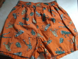 Boy's Boxer Shorts Frog Print on Orange GAP size 8-Vintage - $8.00
