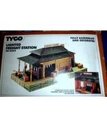 HO Trains  Tyco Lighted Freight Station HO Scale - $15.00