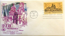 October 29, 1971 First Day of Issue, Fleetwood Cover, Historic Preservat... - $2.24