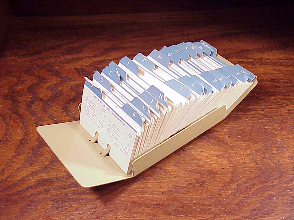 Bates Beige Flat Card File Organizer, model and 50 similar items