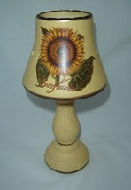 Sunflower Vintage look Lamp Shade Tealight Burner NEW