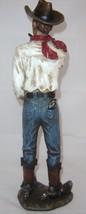 Country Cowboy Rustic Look Figurine - Polystone Western Ranch  image 2