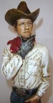 Country Cowboy Rustic Look Figurine - Polystone image 3
