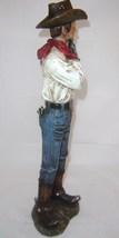Country Cowboy Rustic Look Figurine - Polystone image 4