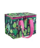 Brand New Sass & Belle Novelty Fashion Print Insulated Lunch Bag - Cactu... - $12.13