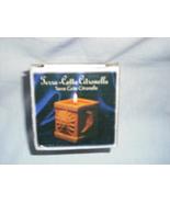 Terra-cotta Citronella candle  - $5.00